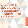 In-House vs Outsourced Developers: 7 questions to Ask Before you Decide
