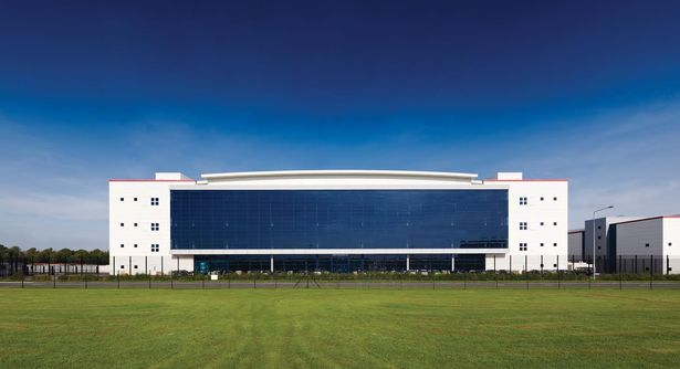 Image of one of our secure data centres